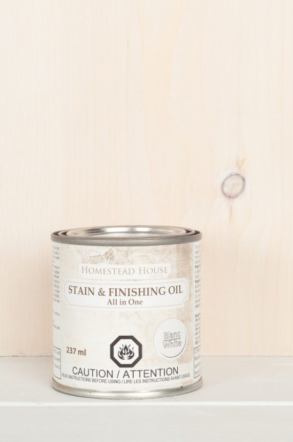 Fusion Stain and Finishing Oil -White 1