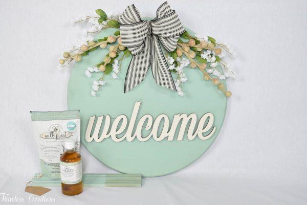 Milk Paint 101 Class: Paint a Tray or Wreath (April) 7