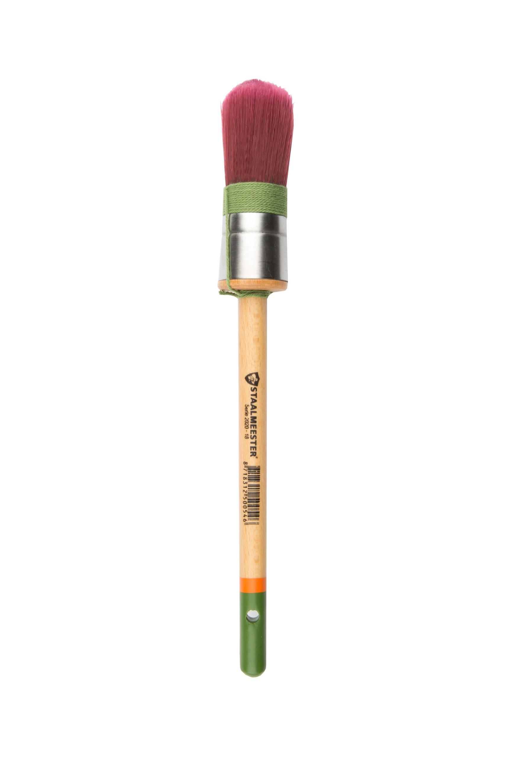Staalmeester Premium Brush - Round Synthetic #18 1